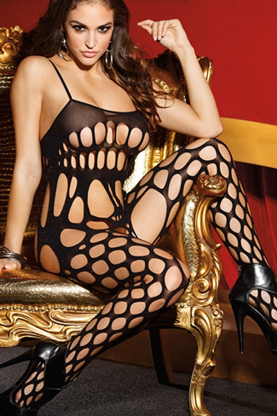 Tease Me Please Me Shredded Body Stockings