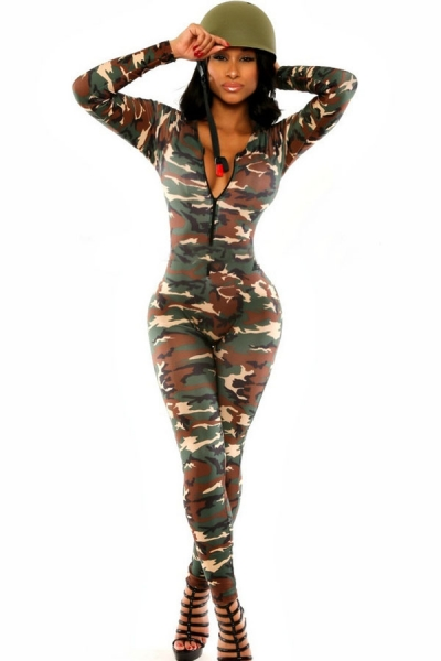 The Army Soldier Catsuit