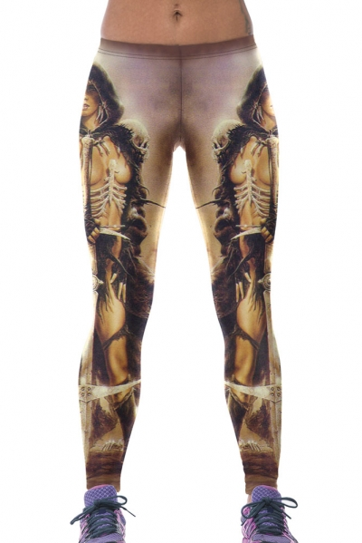 Barbarian Princess Stretchy Yoga Leggings