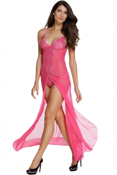 Bride to Be Rosy Sleepwear Gown