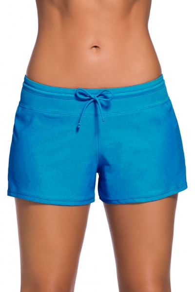 Acid Blue Women Swim Boardshort