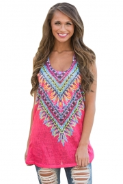 Rosy Kaleidoscope Dreams Tank