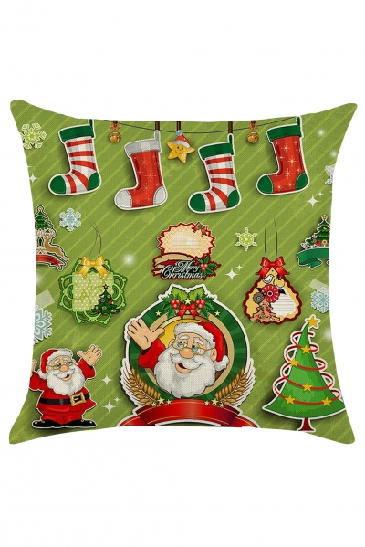Christmas Fashion Holiday Throw Pillow Cover