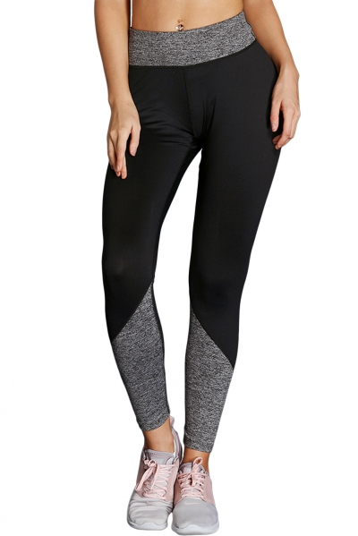 Gray Essential Active Capri Leggings